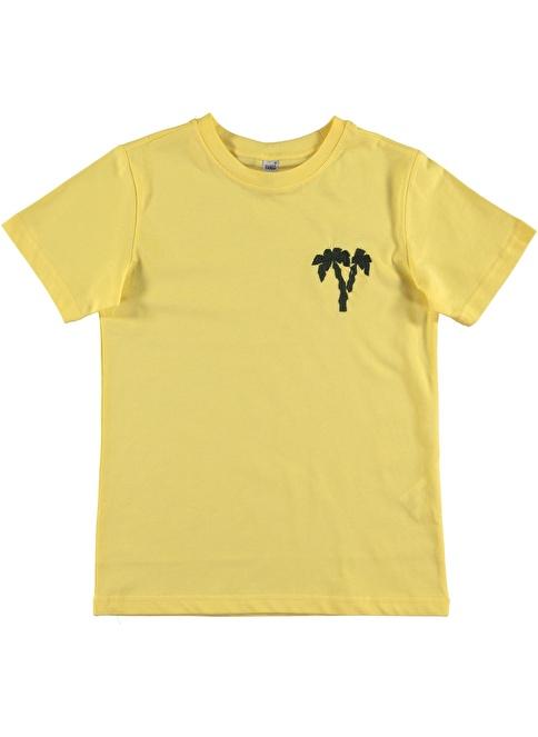 Panço Tişört Sarı